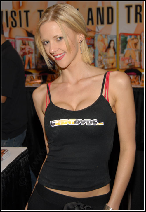 Hannah Harper at the 2008 Adult Entertainment Expo