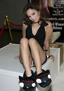 Amber Rayne at the 2009 AVN Adult Entertainment Expo for Rodney Moore