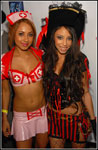 Alexis Love and Veronique Vega at Heaven and Hell Halloween Bash '07
