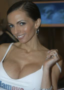 Catalina Cruz at the 2004 AVN Adult Entertainment Expo for Adam and Eve