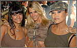 Carmen Hart, jessica drake and Mia Smiles at the Coming Home Release Party