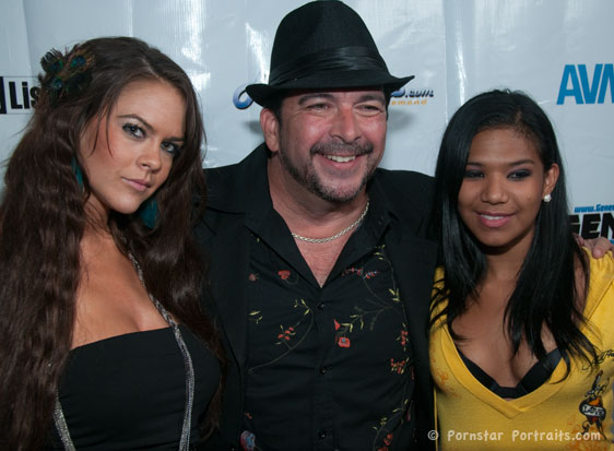Cindy Jones, James Bartholet and Emy Reyes at Emergency Porn Party