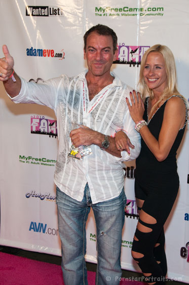Randy Spears and Payton Leigh at F.A.M.E. Awards