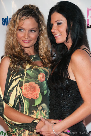 Prinzzess and India Summer at F.A.M.E. Awards
