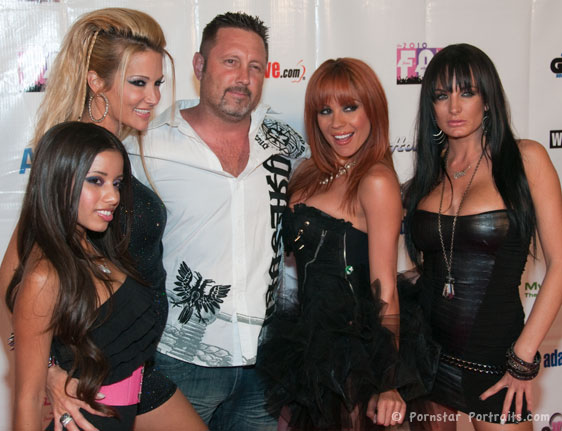 Lupe Fuentes, jessica drake, Brad Armstrong, Kirsten Price, Alektra Blue at F.A.M.E. Awards