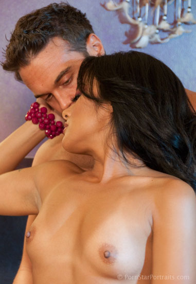 Kaylani and Rocco Get Close On The Set of Girl Trouble for Wicked Pictures