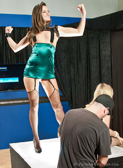 Tori Black at On The Set Of Superstar Showdown