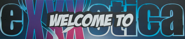 eXXXotica banner Courtesy of Victory Trade Show Management