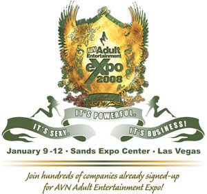 2008 Adult Entertainment Expo Logo