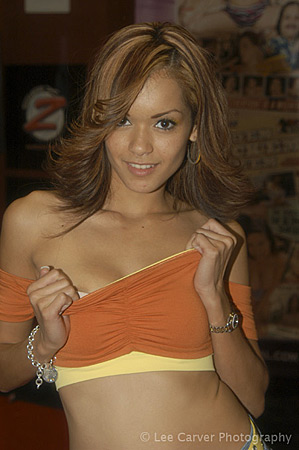 Daisy Marie at the 2004 Erotica LA for Video Team Image Courtesy of Michael Saint