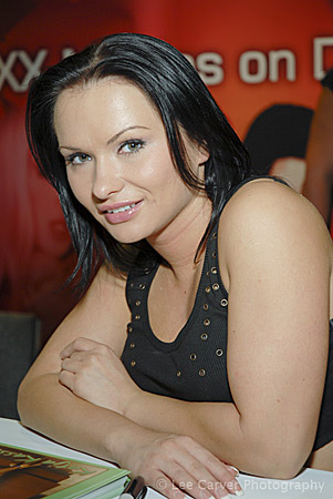 Katja Kassin at the 2006 Erotica LA for Adult DVD Rental Image Courtesy of Michael Saint