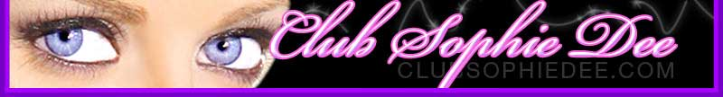 Club Sophie Dee Banner courtesy of Sophie Dee