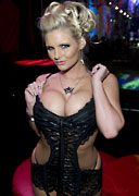 Phoenix Marie at the 2009 AVN Adult Entertainment Expo for Frye TV
