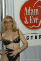 Nina Hartley at the 2007 Adult Entertainment Expo for Adam and Eve Pictures Image courtesy of Michael Saint