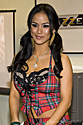 Nadia Styles at the 2008 Adult Entertainment Expo for Brazzers