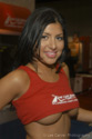 Sativa Rose at the 2004 Erotica LA for Red Light District Image Courtesy of Michael Saint